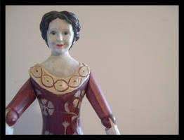 Dama do sinal.The signal lady by Ornatos-Violeta