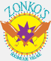 Zonko's Joke Shop Logo- white by opaleyes