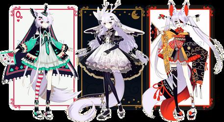 [CLOSED] Playing card adopts by Piku-chan21