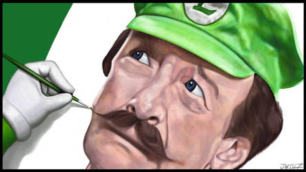 Luigi self portrait, By JOSHWillz by SSMF