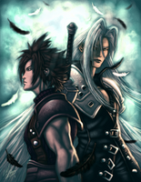 final fantasy vii-crisis core by mlappas