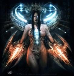 Cyborg Girl by mlappas