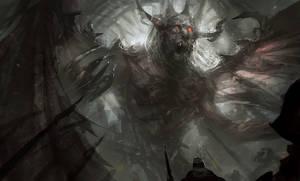 Winged Demon by mlappas