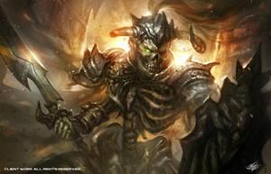 Skeleton Warrior by mlappas
