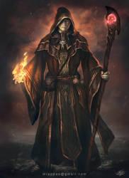 Dark Wizard by mlappas