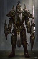 Demon Knight Concept by mlappas