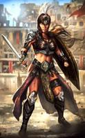 Gladiator Catherine by mlappas
