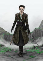 Arya Brainstorm's challenge 23 - Game of Thrones by JNathanIllustration