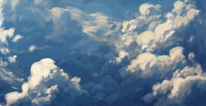 Clouds by JNathanIllustration