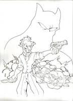 The Dark Knight by JoshawaFrost
