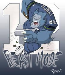 Beast Mode by JoshawaFrost