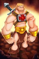 He-Man COLORED by JoshawaFrost