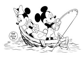 Gone Fishin by JoshawaFrost