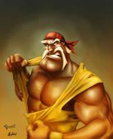 The Hulkster!!! by JoshawaFrost