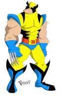 Wolverine by JoshawaFrost