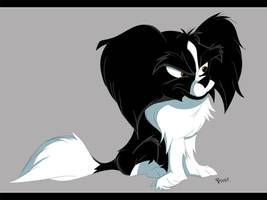 Dog commission by JoshawaFrost
