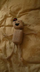 Knitted Boxman by Hollow-Eclipse