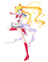 Super Sailor Moon by Bloom2