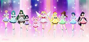 Celestial Senshi by Bloom2