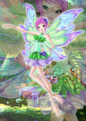 Tecna Livix Fairy by Bloom2