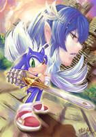 Sonic and the Black Queen by tikal