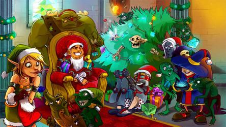 Christmas truce by kappou-caroline