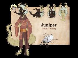 (dnd) Juniper Ref by susling