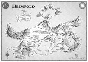 Heimfold: world map by Caenwyr