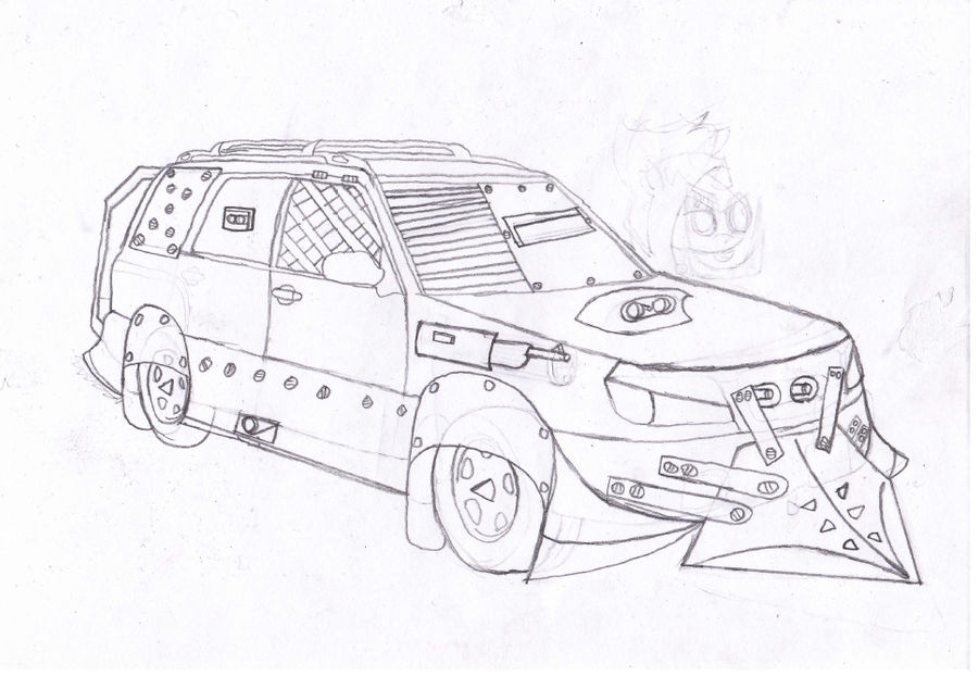 Black Napalm S Subaru Forester Sketch By Blacknapalmpony On Deviantart