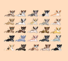 25 Puppy Adoptables 1 LEFT by lol-adopts