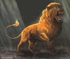 Lion by Mospineq