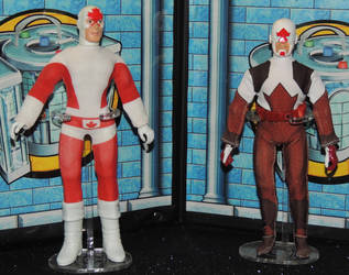 Captain Canuck Original and Moderen by monitor-earthprime