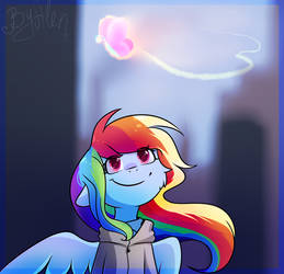 Rainbow Dash by AlenD-nyan