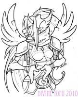 Tauren Priestess by DivineTofu