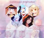 [OPEN] Commission Sheet by nellichiyo