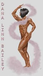 Dana Linn Bailey by Volkan-Kinaci