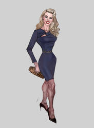 Christie Brinkley by Volkan-Kinaci