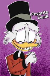 Duckvember day 1: Favorite Duck by KarrieTheHedgehog1