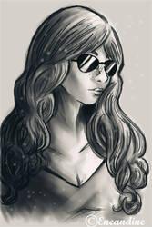Fashion portrait by eneandine