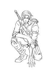 Steampunk Warrior by eneandine