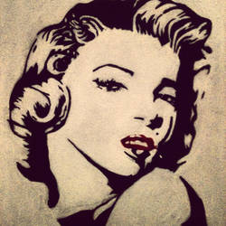 Marilyn Monroe by iloverienimparisien
