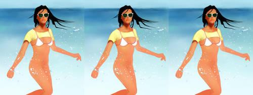 Beach Bum 2 by Fassin-Taak