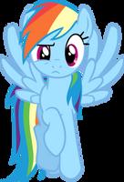 Rainbow Dash - WTF? by BobtheLurker