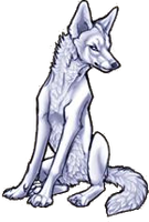 Free Wolf Pose by WinterWarfare