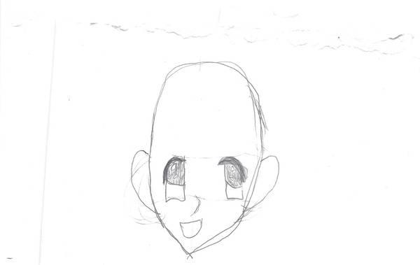 Anime Face Template By Aelita260