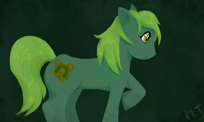 Pete the bog pony by Murder-Junkie