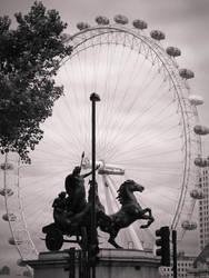 London Eye by julcsa