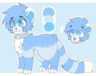 Blue Boi Adopt?? [CLOSED] by sleepiiii