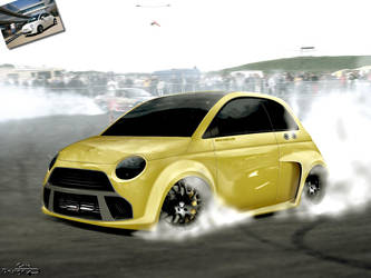 Fiat 500 by Caioul
