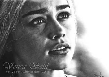 Daenerys Targaryen by VencaSeitl